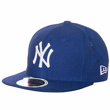 New Era 59FIFTY MLB Basic New York Yankees Cap Kinder Blau NEU