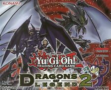 Dragons of Legend 2 DRL2 Secret Rare Yu-Gi-Oh Cards Take Your Pick MINT New
