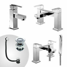 AUSTIN BATHROOM TAP SET BATH FILLER BATH SHOWER MIXER MONO BASIN MIXER & WASTE