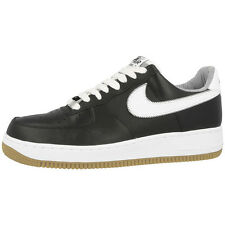NIKE AIR FORCE 1 SCARPE SNEAKER BLACK NERO BIANCO 488298-046 DUNK 07