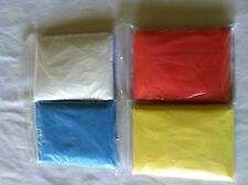 Lot of 50 rain ponchos emergency rain coats one size fits all US seller