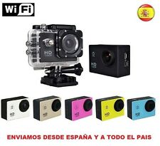 "CAMARA VIDEO TIPO SIMILAR GOPRO WIFI 1080p FULL HD DV SUMERGIBLE LCD 1.5"" 12 MPX"