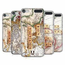 HEAD CASE DESIGNS TRAVEL THE WORLD CASE FOR APPLE iPOD TOUCH 6G 6TH GEN