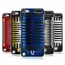 HEAD CASE DESIGNS VINTAGE MICROPHONES CASE FOR APPLE iPOD TOUCH 6G 6TH GEN