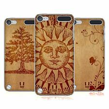HEAD CASE DESIGNS WOOD ART HARD BACK CASE FOR APPLE iPOD TOUCH 6G 6TH GEN
