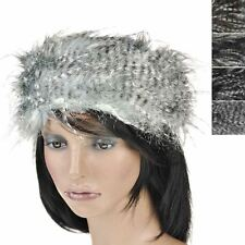 Lady Girls Winter Headband faux ear Warmer fur Hat Elastic