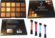 15 colors Concealer palette with angled brush face makeup contour cream CL2