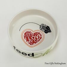 Dogs & Cats Feeding Bowls - Pet Collection - Wild About Words - Pet Gifts