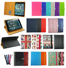 Universal Wallet Case Cover with Stand fits 3GO Geotab 7000 3G 7 Inch Tablet