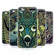 HEAD CASE AZTEC ANIMAL FACES SERIES 6 GEL CASE FOR APPLE iPOD TOUCH 6G 6TH GEN