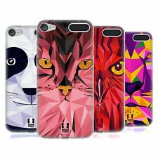 HEAD CASE GEOMETRIC ANIMALS SERIES 1 GEL CASE FOR APPLE iPOD TOUCH 6G 6TH GEN