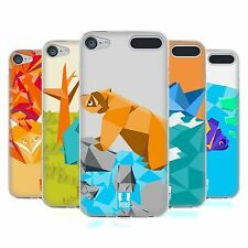 HEAD CASE ORIGAMI SOFT GEL CASE FOR APPLE iPOD TOUCH 6G 6TH GEN