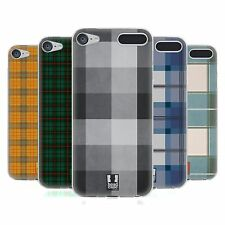 HEAD CASE PLAID PATTERN SOFT GEL CASE FOR APPLE iPOD TOUCH 6G 6TH GEN