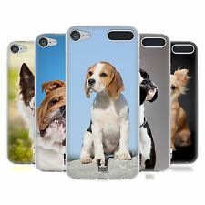 HEAD CASE POPULAR DOG BREEDS SOFT GEL CASE FOR APPLE iPOD TOUCH 6G 6TH GEN