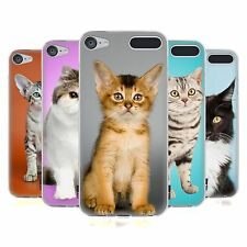 HEAD CASE POPULAR CAT BREEDS SOFT GEL CASE FOR APPLE iPOD TOUCH 6G 6TH GEN