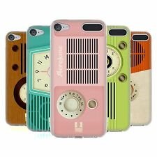 HEAD CASE VINTAGE RADIO PHONE SOFT GEL CASE FOR APPLE iPOD TOUCH 6G 6TH GEN
