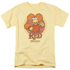 Fraggle Rock Red Circle Jim Henson Licensed Adult Shirt S-5XL