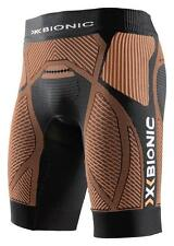 Pantaloni allenamento X-bionic Running The Trick Evo Short Black  Orange Man