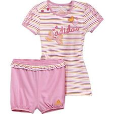 Adidas I AG DRESS + PANT GR.  74 COMBI PINK CHILDREN X21688