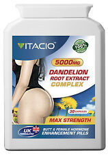 Bigger Bum Butt Enlargement Dandelion Root Extract Complex 5000mg Pills