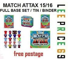 MATCH ATTAX 15/16 CHOOSE FROM FULL BASE SET / TIN / BINDER / STARTER PACK