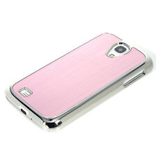 Silver Luxury Steel Chrome Deluxe Case Cover For SAMSUNG GALAXY S4 +Screen Guard