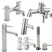 SAGITTARIUS ERGO BATHROOM TAPS CHROME MIXER BASIN BATH SHOWER FILLER SINK LEVER