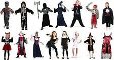 Boy's And Girl's Halloween Costumes Vampires Zombies Nurse Devil Skeleton Wizard