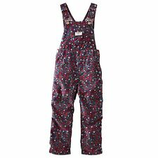 New OshKosh Girl Corduroy Red Floral Print Overalls NWT 18m 24m 2t 3t 4t 5t