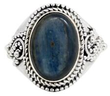 Kyanite Gemstone Ring Solid 925 Sterling Silver Jewelry IR32876