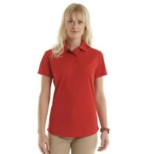 Uneek Ladies Ultra Cool Polo Shirt 140gsm 100% Breathable Polyester (UC126)