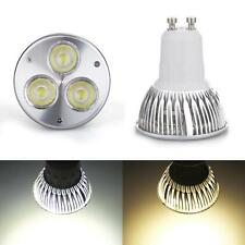 3W GU10 High Power LED Lampe Birne AC85-265V/DC12V Spot Strahler Warmweiß/Weiß