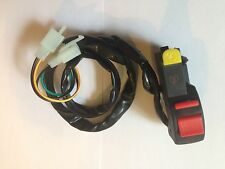 NEW KILL SWITCH + ELECTRIC START BUTTON FOR MONKEY BIKES PIT BIKE AND QUADS ATV