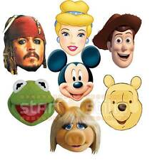 ufficiale DISNEY Festa Maschere MICKEY MOUSE MUPPETS PRINCESS TOY STORY & Altro