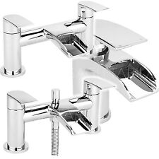 SAGITTARIUS SCALA BATHROOM TAPS CHROME MIXER BASIN BATH SHOWER FILLER SINK LEVER