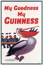 New My Goodness My Guinness Guinness Metal Tin Sign