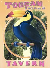 New Mike Patrick Toucan Island Tavern Metal Tin Sign