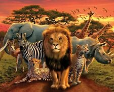 New Wild Animals African Kingdom Mini Poster