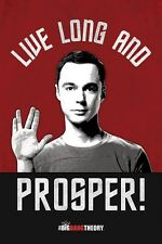 New The Big Bang Theory Live Long And Prosper TBBT Poster
