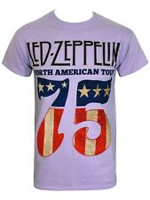 Led Zeppelin North America 75' Men's Orchid T-Shirt