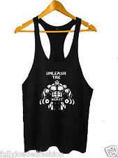 Bodybuilding Stringer Tank Top GYM Y-Back Racerback Gym VEST MMA fighting wear 5