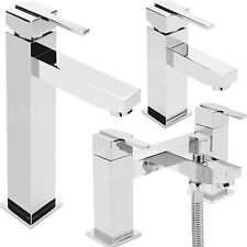 SAGITTARIUS EMPIRE BATHROOM TAPS CHROME BASIN MIXER BATH FILLER SINK MODERN NEW