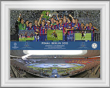 Champions League Final 2015 Barcelona v Juventus Official UEFA Photo Range