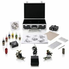 Tattoo Machine Gun Kit Professional Beginners Starter Home Cheap Complete UK