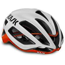 KASK Protone Pro Tour Road Cycling Helmet - White/Red (2016)