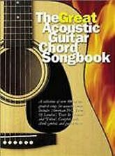 The Great Acoustic Guitar Chord Songbook Lyrics & Chords Book