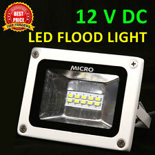 MICRO 12V DC 10W, 20W, 30W Waterproof SMD LED Flood Light White,Indoor & Outdoor