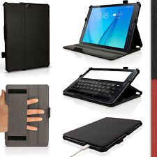 """PU Leather Folio Case for Samsung Galaxy Tab S2 9.7"""" SM-T810 Flip Stand Cover"""