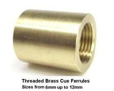 1 Cue Ferrule for Snooker or Pool glue on cue tips. Free UK P&P