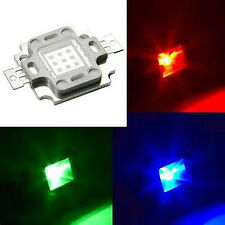 Hi-Power LED 10W Blau Royalblau Rot Tiefrot Grün RGB